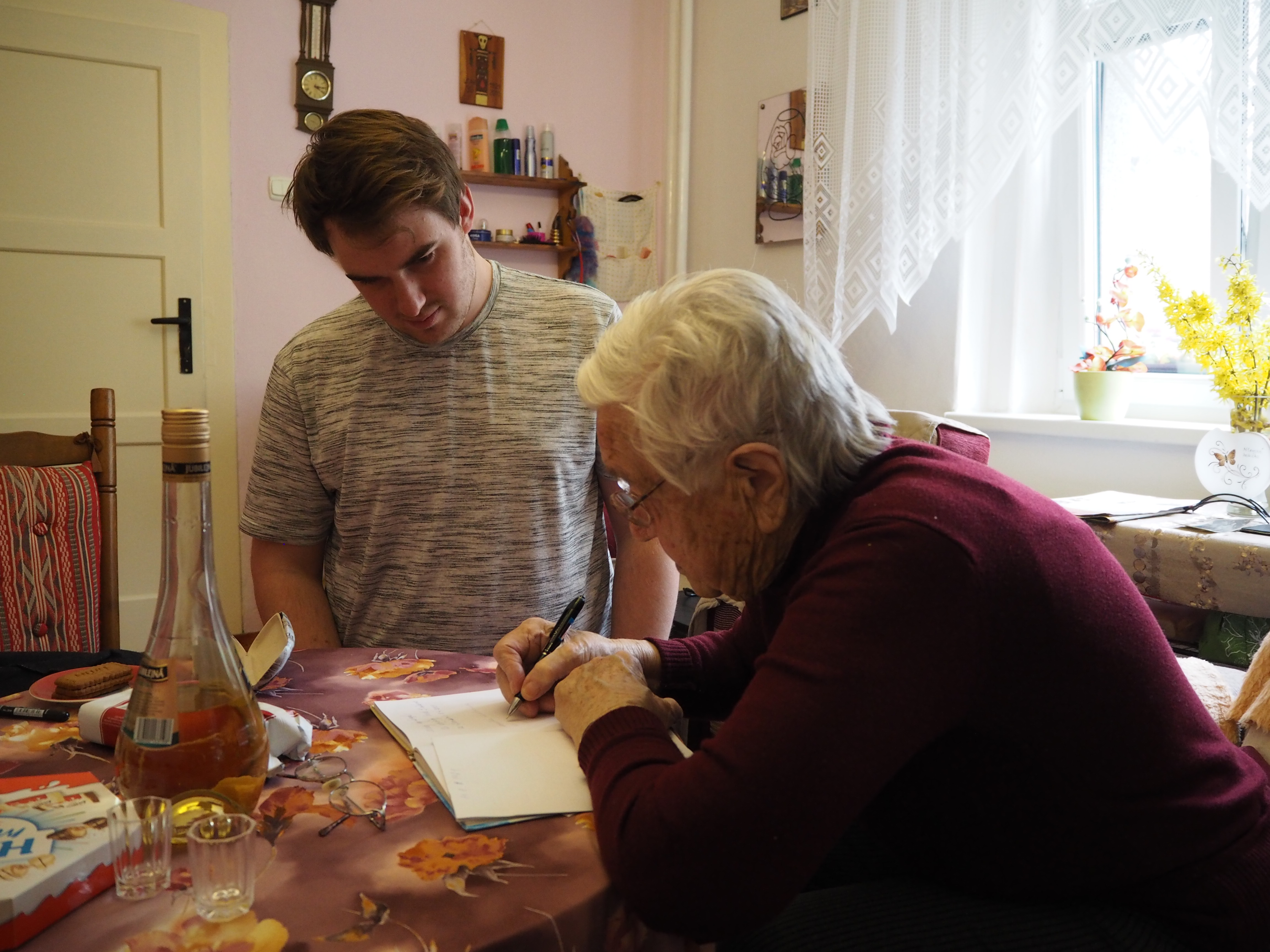 S paní Marií Michajlovičovou, duben 2021.