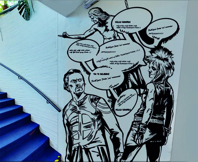 Vzkazy na stěně