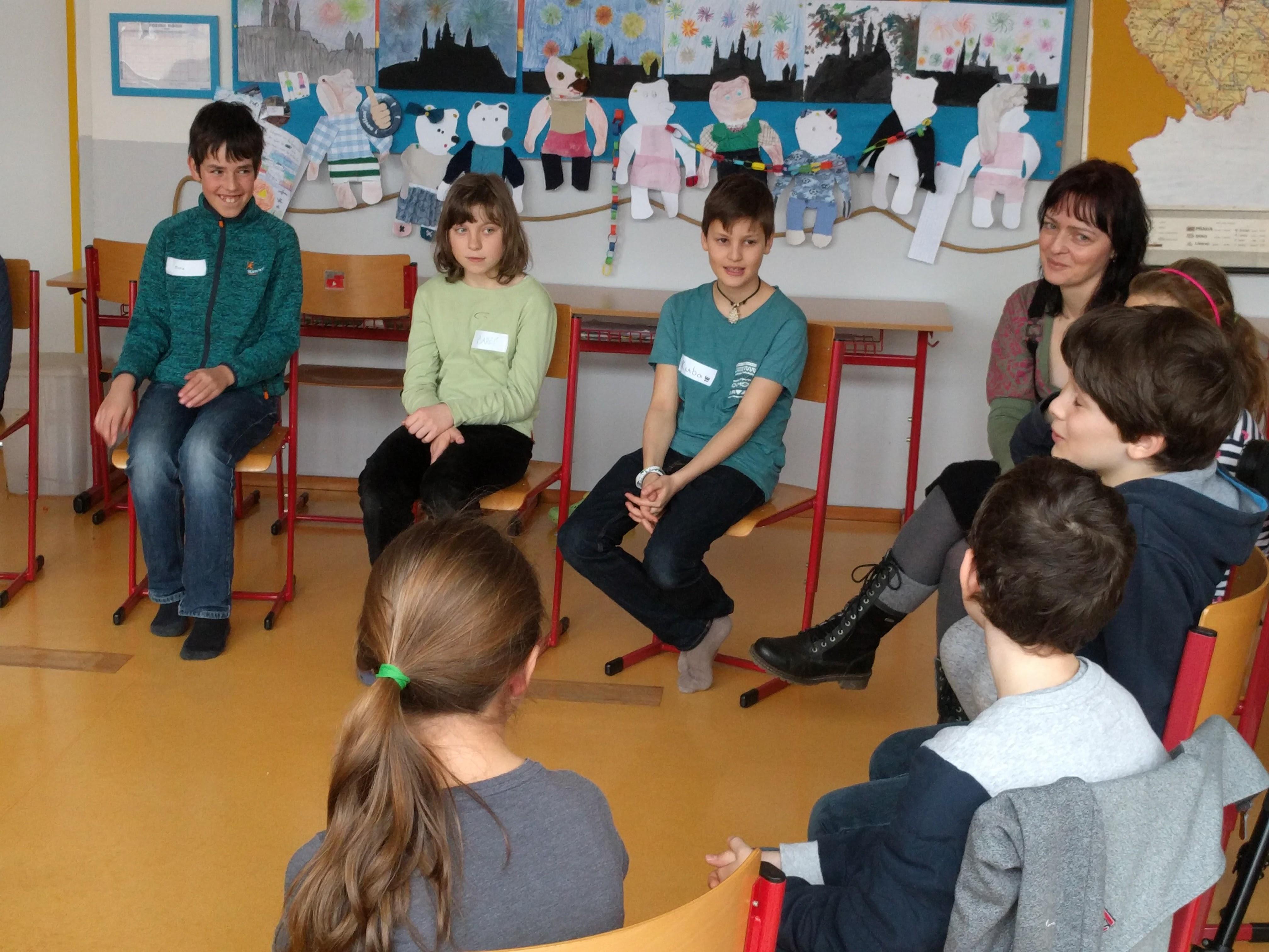 Děti se učí řešit krizové situace