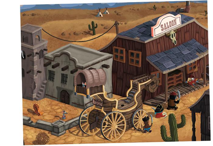 Western, Medvěd Wrr: Po přečtení zavřít!