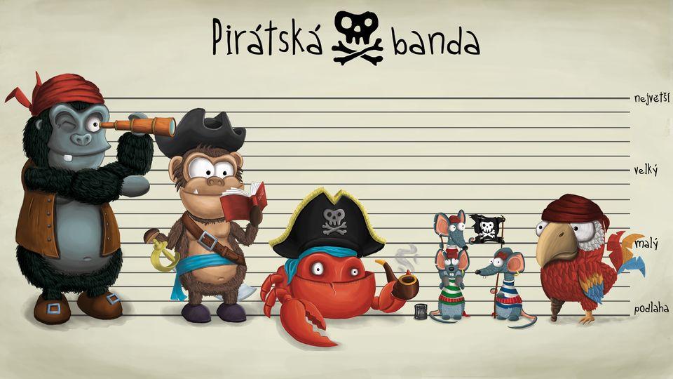 Pirátská banda, Medvěd Wrr: Po přečtení zavřít!