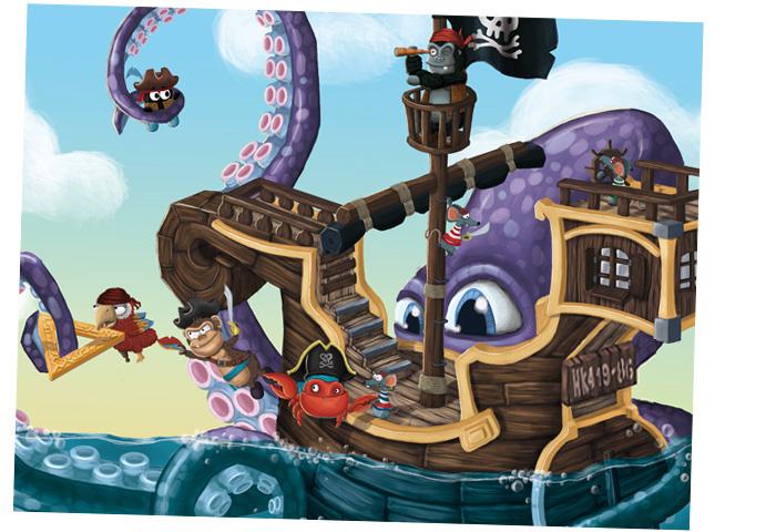 Chobotnice, Medvěd Wrr: Po přečtení zavřít!