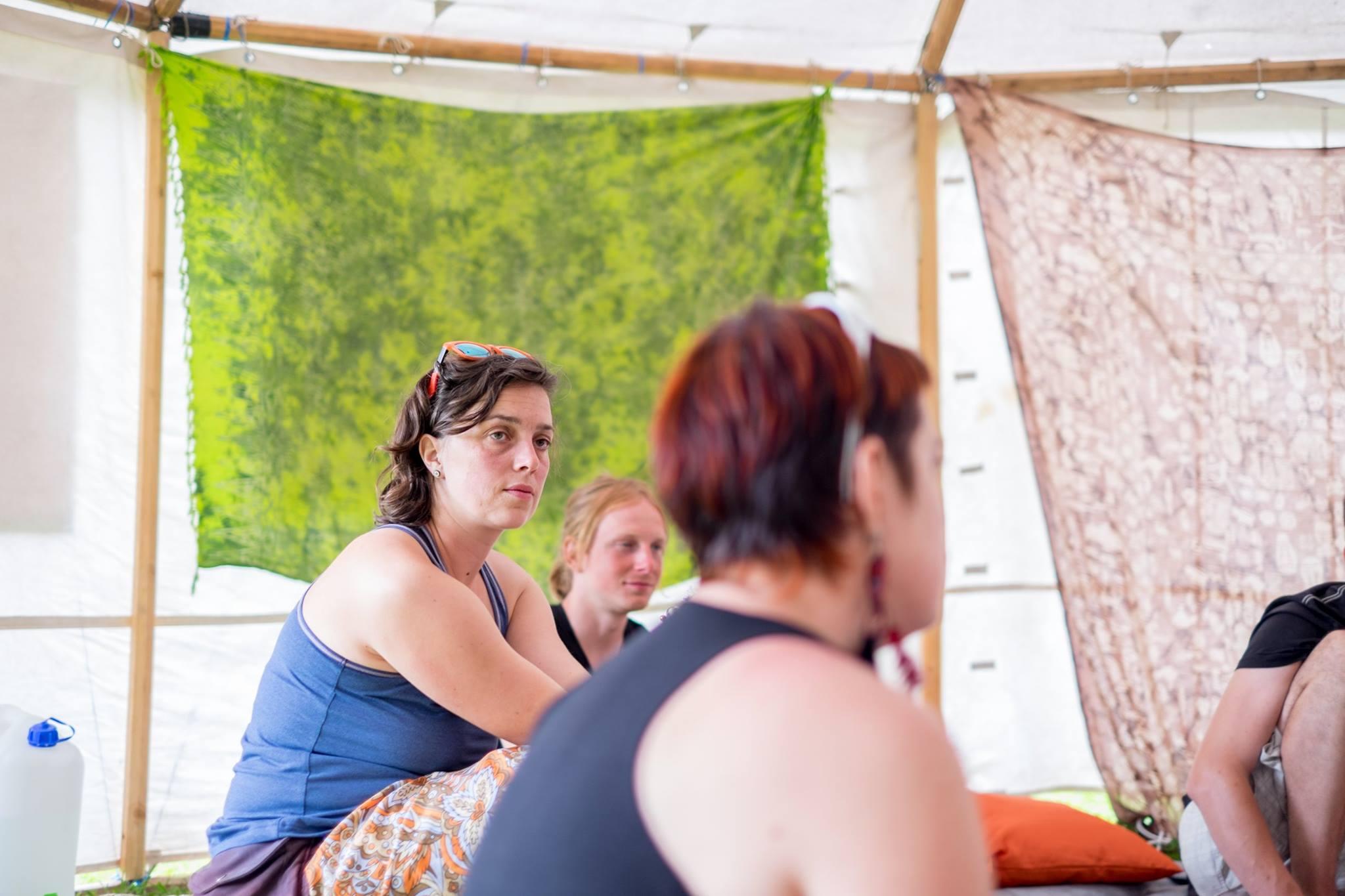 Svatava Bardynova at PsyCare, UFO BUFO festival