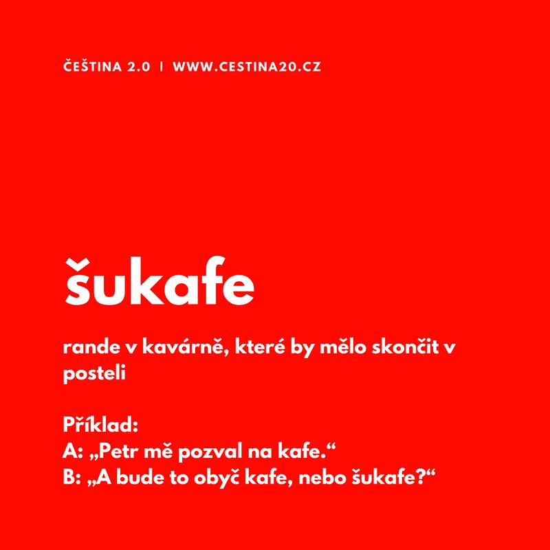 Šukafe: rande v kavárně, které by mělo skončit v posteli