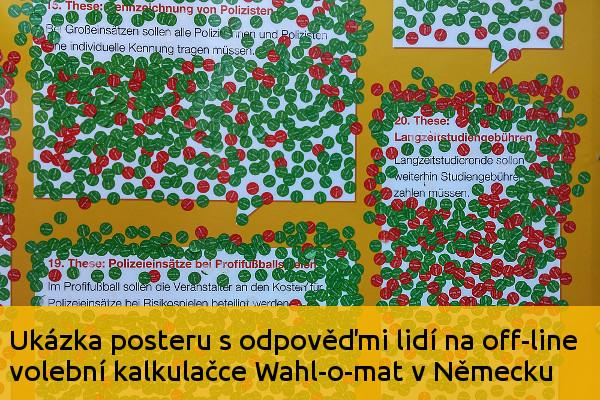 Off-line volební kalkulačka Wahl-o-mat