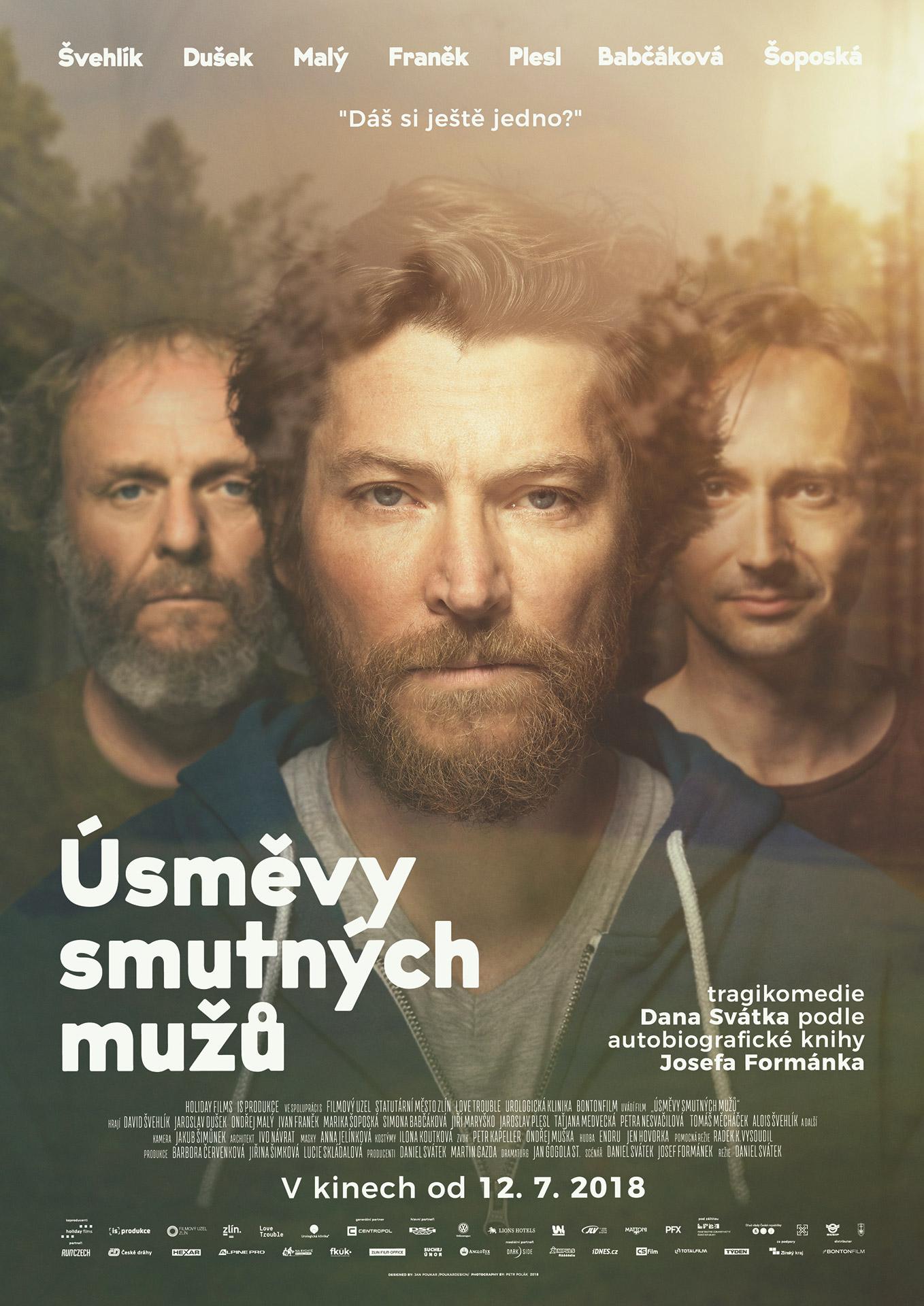 ÚSMĚVY SMUTNÝCH MUŽŮ - filmový plakát