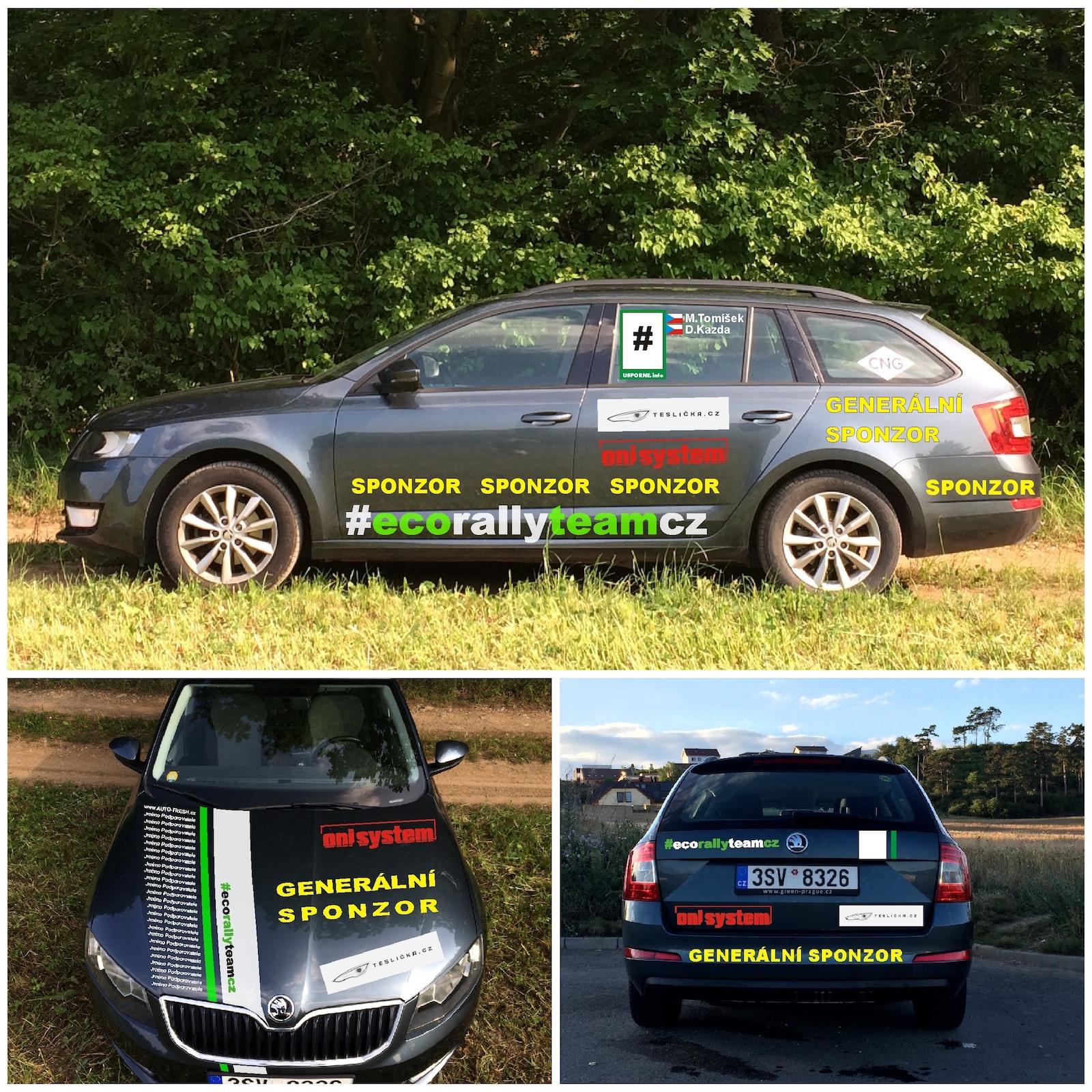Náhled grafiky auta #EcoRallyTeamCZ