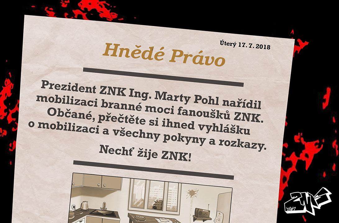 ZNK: Mobilizace - událost na Facebooku