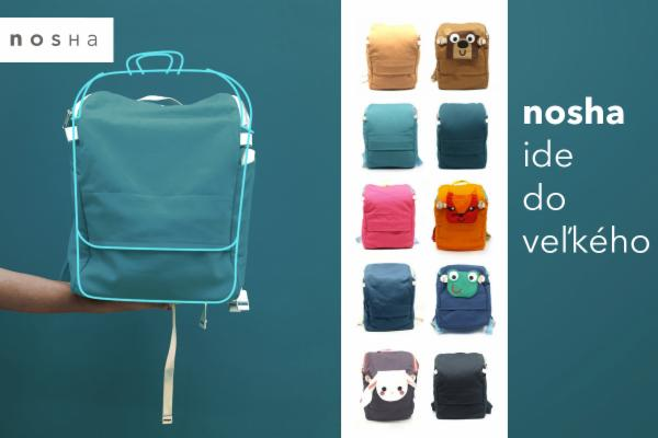 1c8955fff1 Hithit - Jediné ekologické batohy - nosha - pre deti aj dospelých