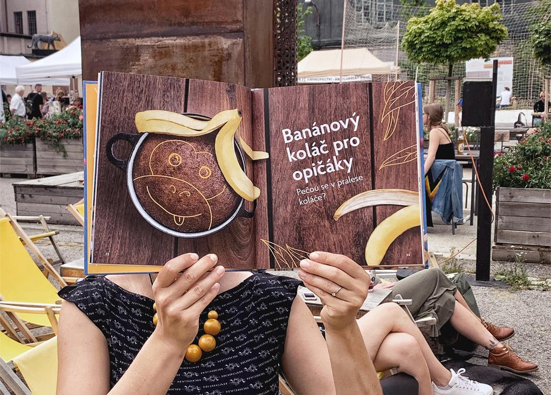 Banánový koláč pro opičáky
