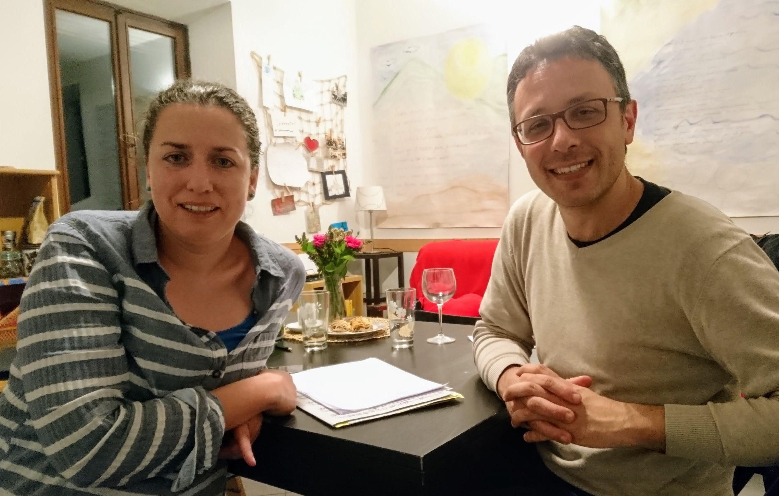 Martina Komínková a MASSIMILIANO ZANONI