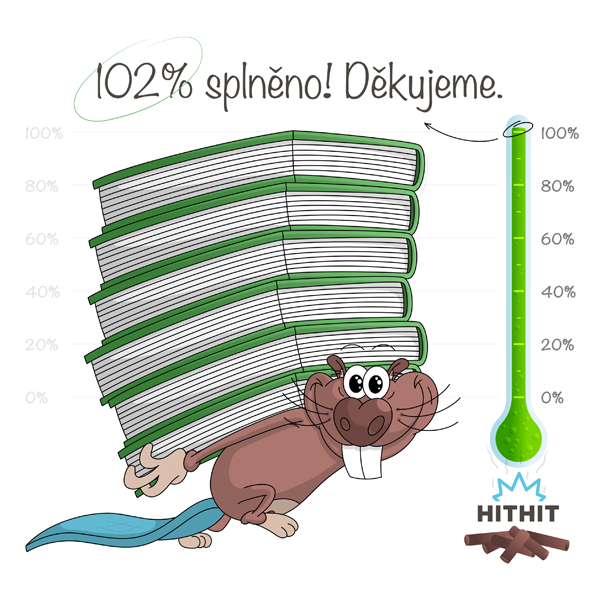 102% splněno!