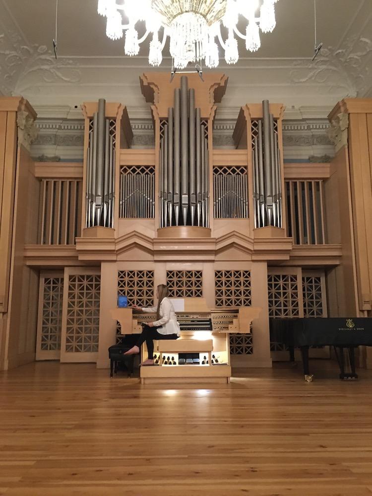 Nahrávání hudby skladatelky Elišky Cílkové