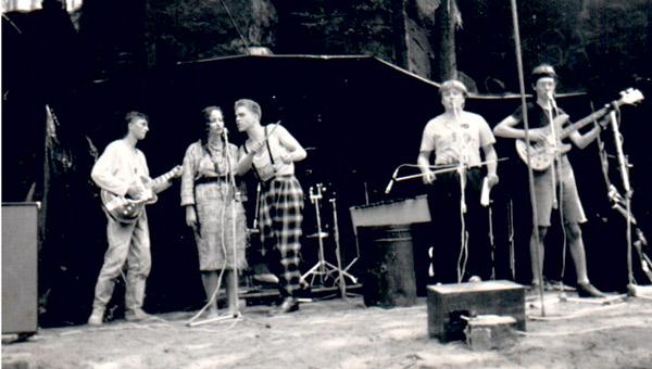 První koncert 1989