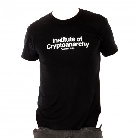 T-Shirt Man Institute of Cryptoanarchy