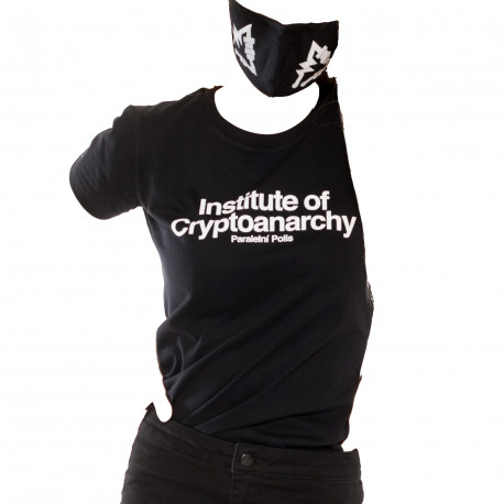 T-Shirt Woman Institute of Cryptoanarchy