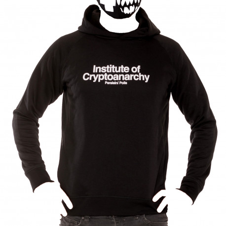 Hoodie Man Institute of Cryptoanarchy