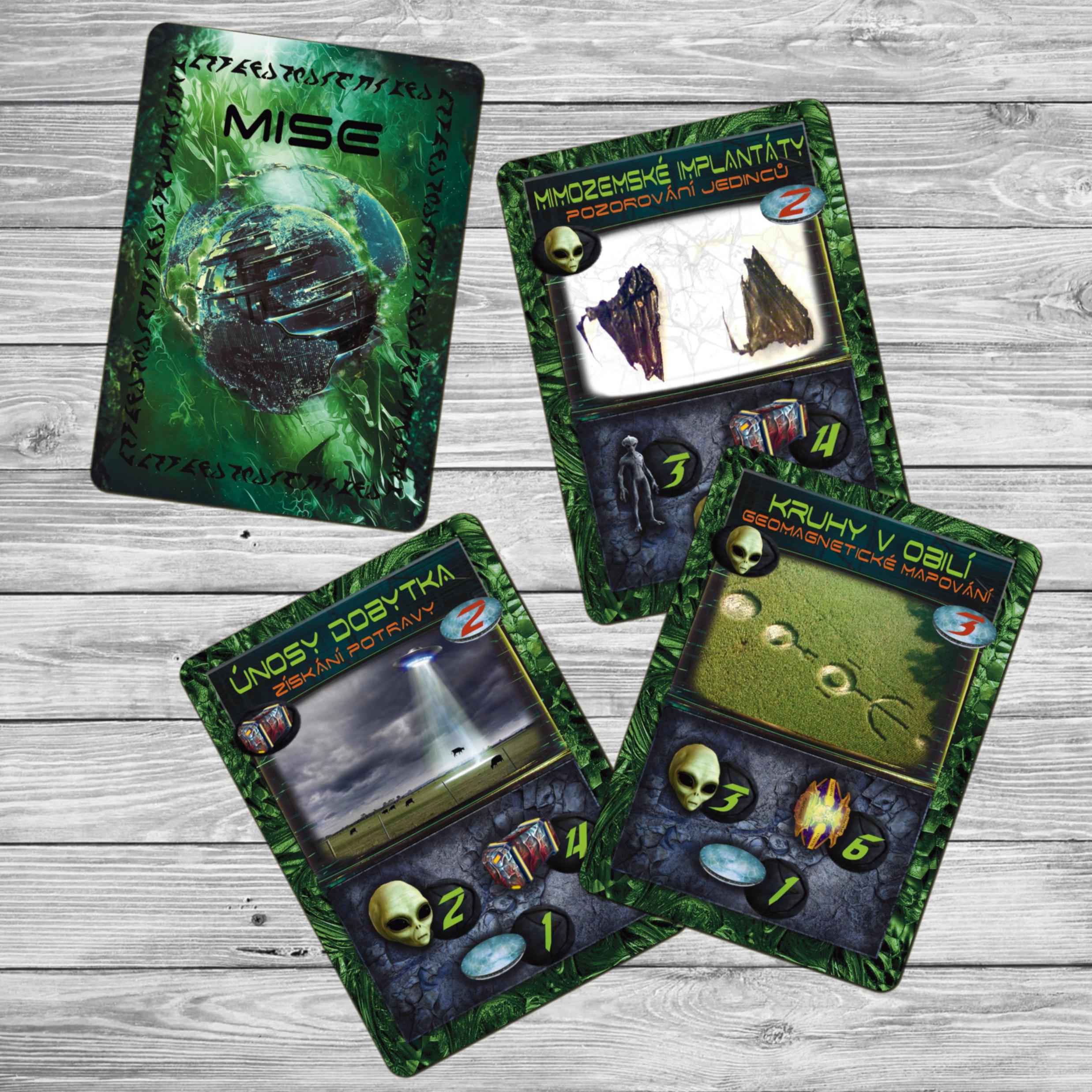 Karty misí