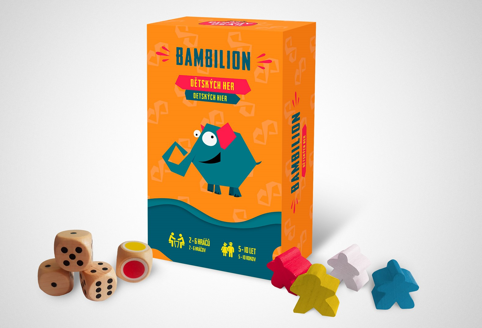 Krabička Bambilion s dřevěnými komponenty