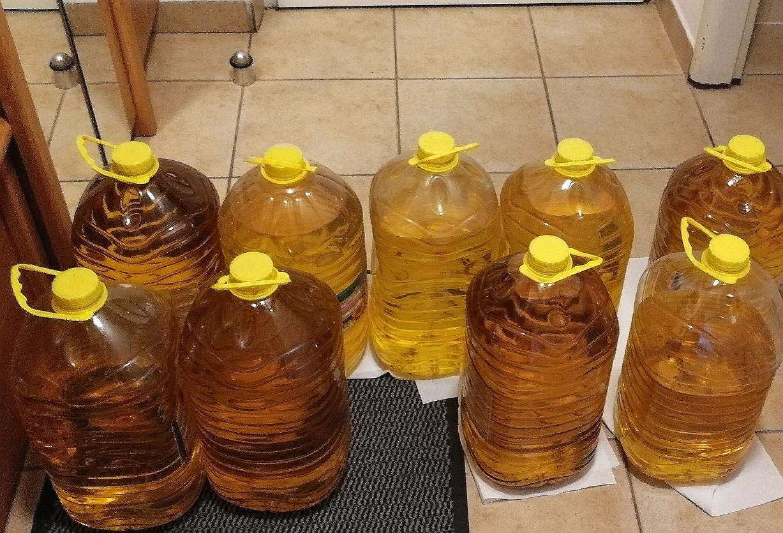 Recyklace použitého oleje