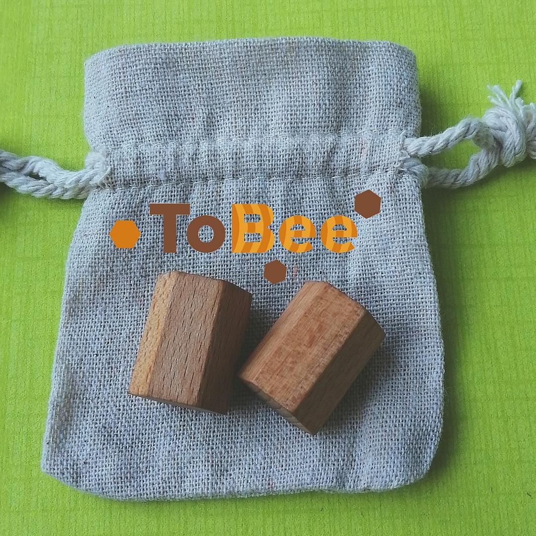 ToBee - dřevěná relaxace do ruky inspirovaná přírodou