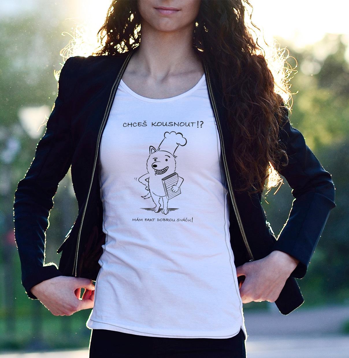 Tričko Chceš kousnout