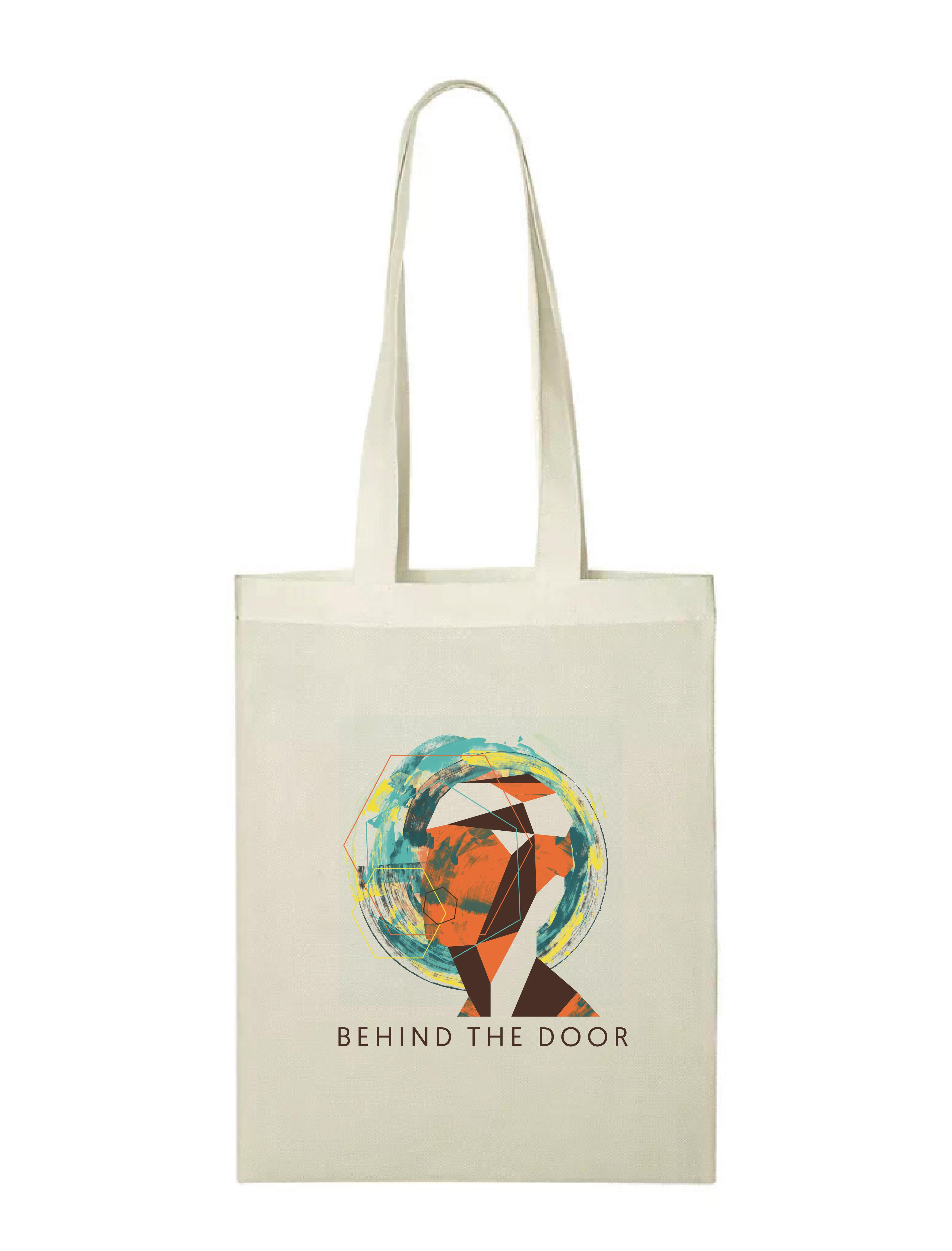 plátěná taška s grafikou alba
